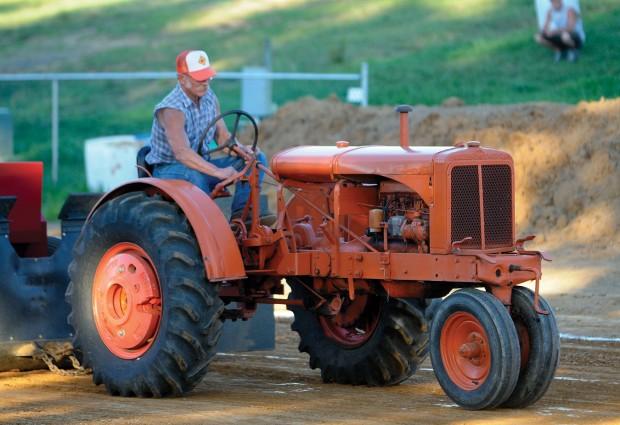 Antique Tractor Pull Tractors : Antique tractors pull their weight at shippensburg fair