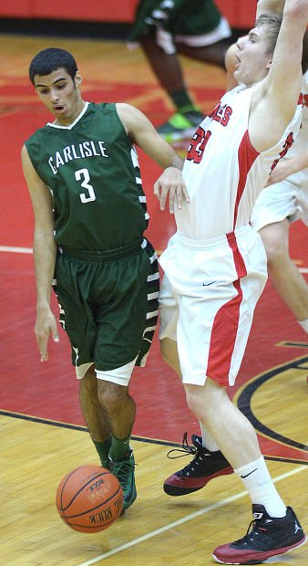 gallery  carlisle vs cv boys basketball