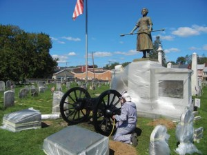 Molly Pitcher publicity stunt takes on a life of its own