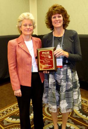 Shippensburg University professor earns educator award