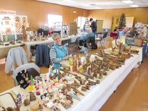 The West Shore Wood Carvers' annual holiday show is a chance for residents to find handmade ornaments, gifts