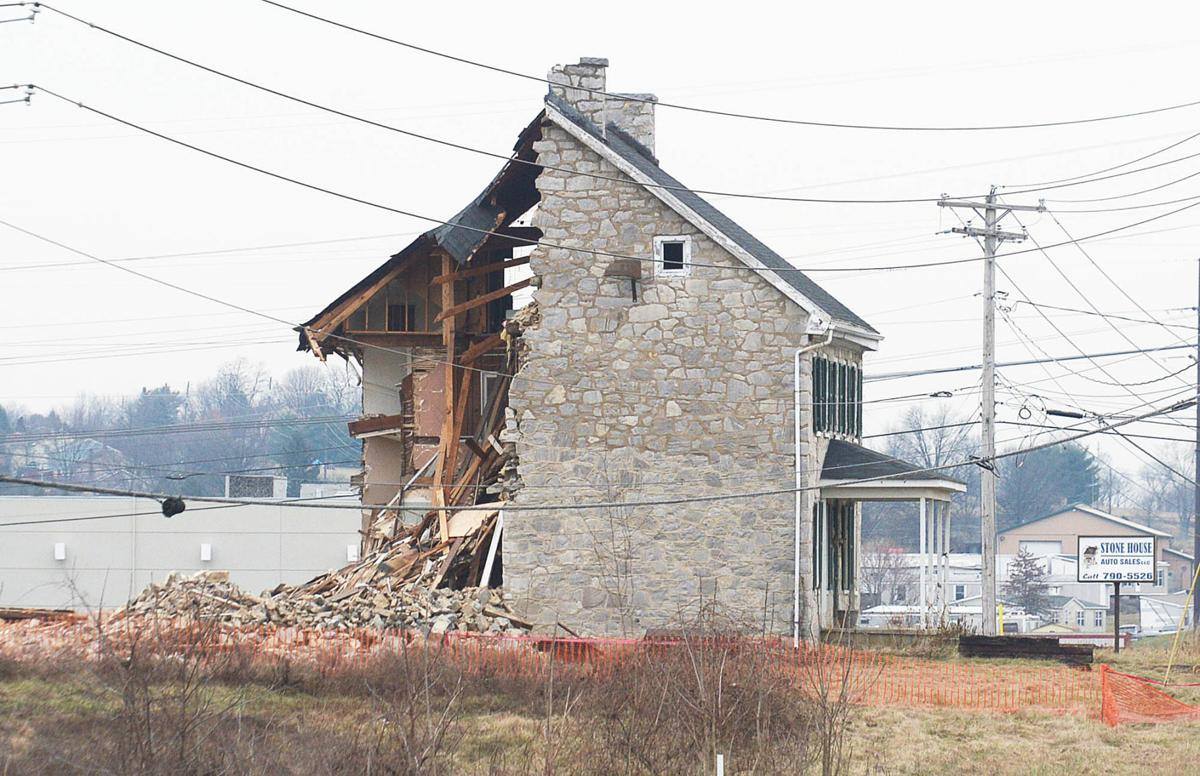 Historic Mistake For Silver Spring Stone House