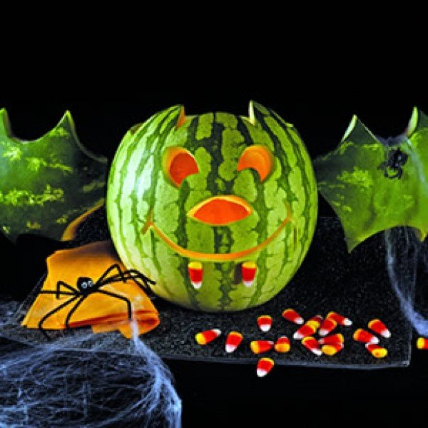 Boo tiful halloween carvings with watermelons momlink