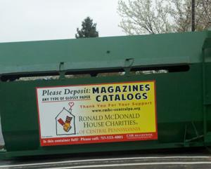 Ronald McDonald House Charities to collect magazines for recycling
