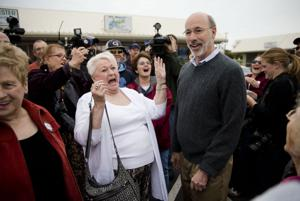 GOP sends message to Wolf as he celebrates victory
