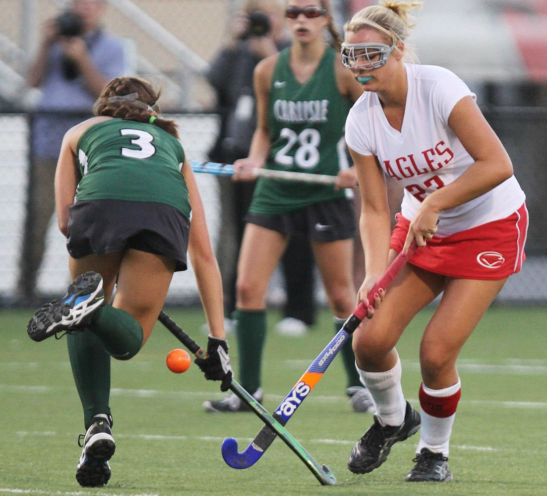 piaa field hockey  cumberland valley falls to familiar foe