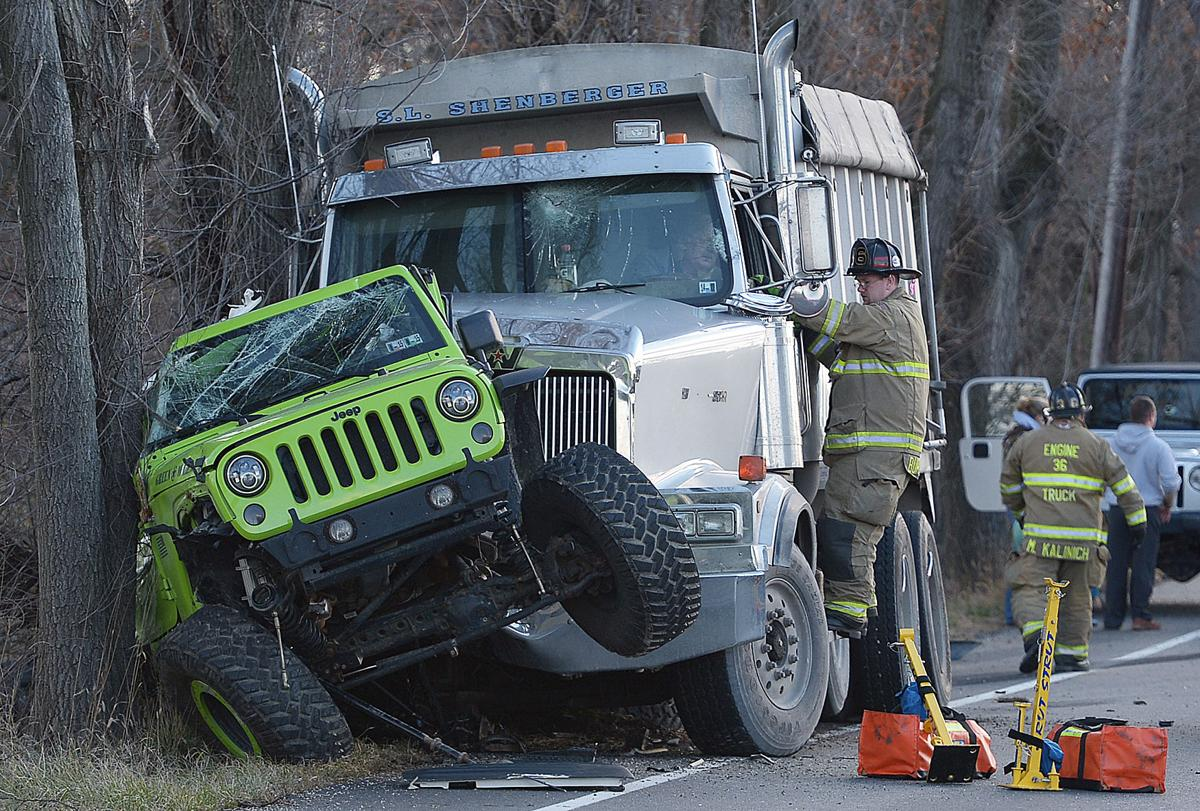 Gallery jeep and dump truck crash photo galleries cumberlink com