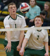 HS Boys Volleyball: Carlisle edges CD East
