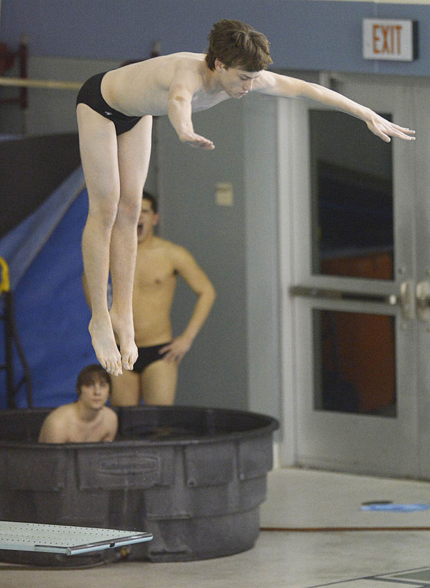 Mid penn diving trinity 39 s bradley buchter breaks mid penn records at conference meets varsity - Dive recorder results ...
