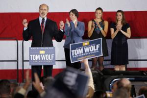 Wolf ousts Corbett in Pennsylvania governor's race