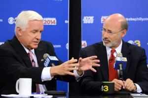 Corbett attacks Wolf tax plan as election looms