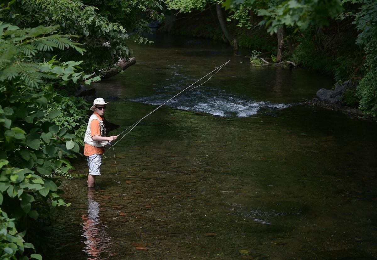 Day 8 yellow breeches creek the sentinel news for Spring creek pa fishing report