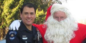 Police help Santa make early deliveries on the West Shore