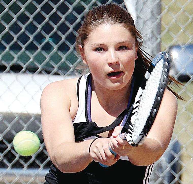 choteau senior singles Glacier's top singles players fought hard through difficult draws only to see their  a senior and three-time state  beating choteau's michaela.
