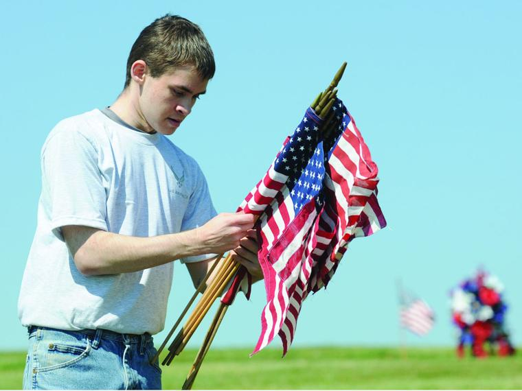 Planting flags the independent online news for Proper placement of american flag