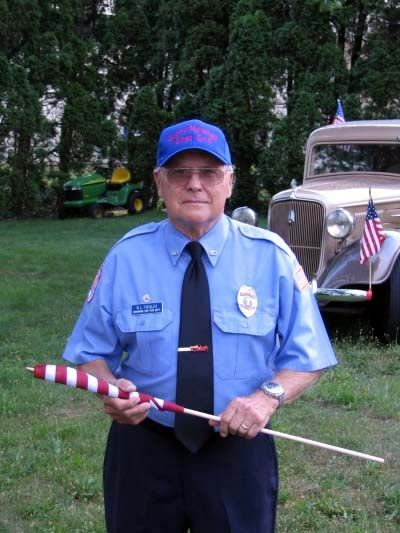 Robert Fiegles served as fire chief for East End Fire Department in 1968, 1975 and 1976.