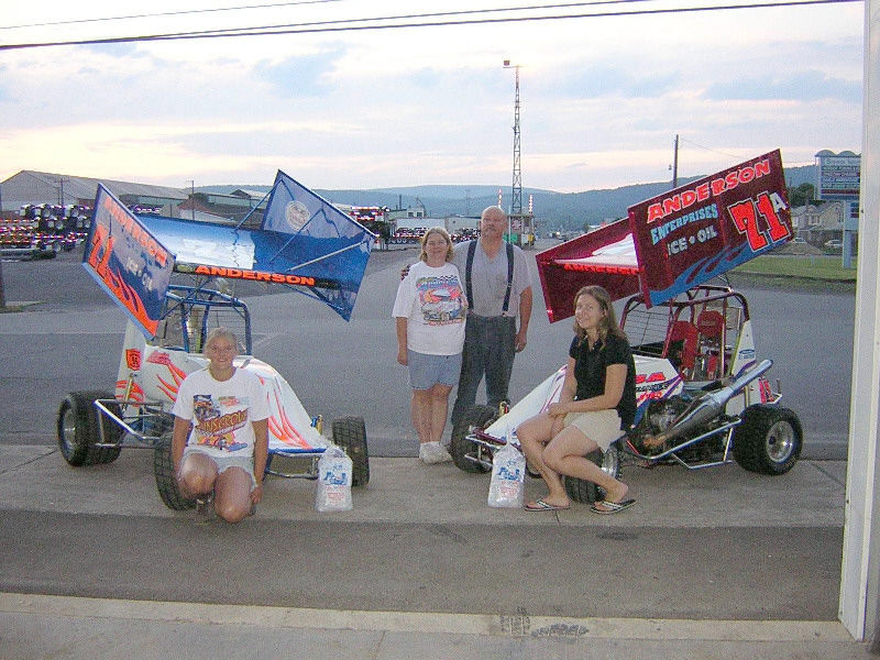 Motorsports racing is a family affair for the andersons for Sunbury motors sunbury pa