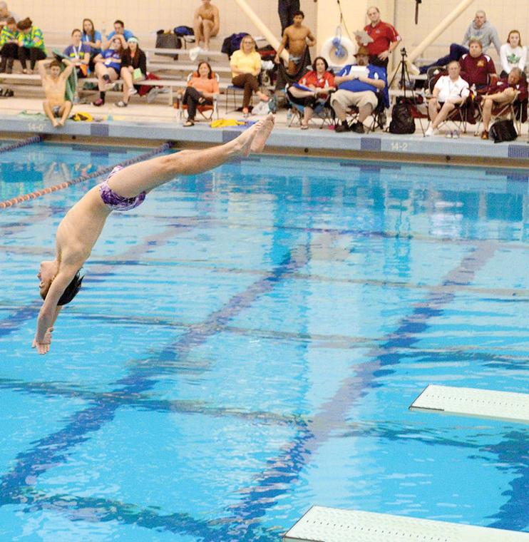 H s swimming deja vu all over again for lewisburg 39 s foley the daily item sports for Bloomsburg university swimming pool