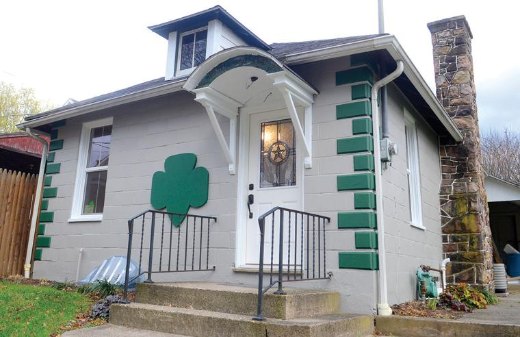 Rehab nears completion at little girl scout house the daily item news - The scouts tiny house ...