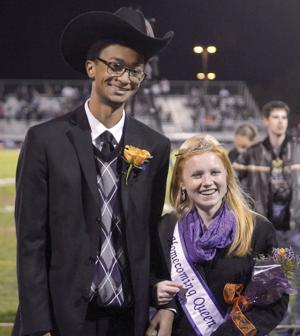<p>The Danville Homecoming king and queen: Baron Williams, 17, Danville, son of Kenn and Heather Williams, and Emily Foster, 18, Danville, daughter of Jeff and Lisa Foster.</p>