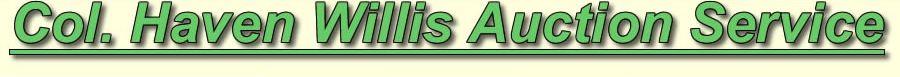 Willis Auction Services
