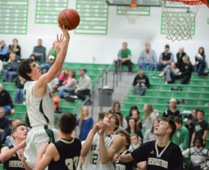 Dragons roll past Blackcats to advance in district