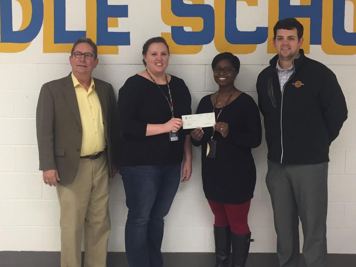 Masonic Lodge Donates