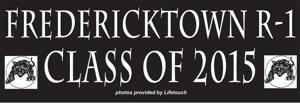 2015 Fredericktown Graduation Seniors
