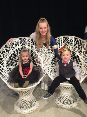 Prince & Princess crowned at Raiderettes show
