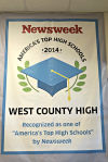 West County recognized for excellence second year