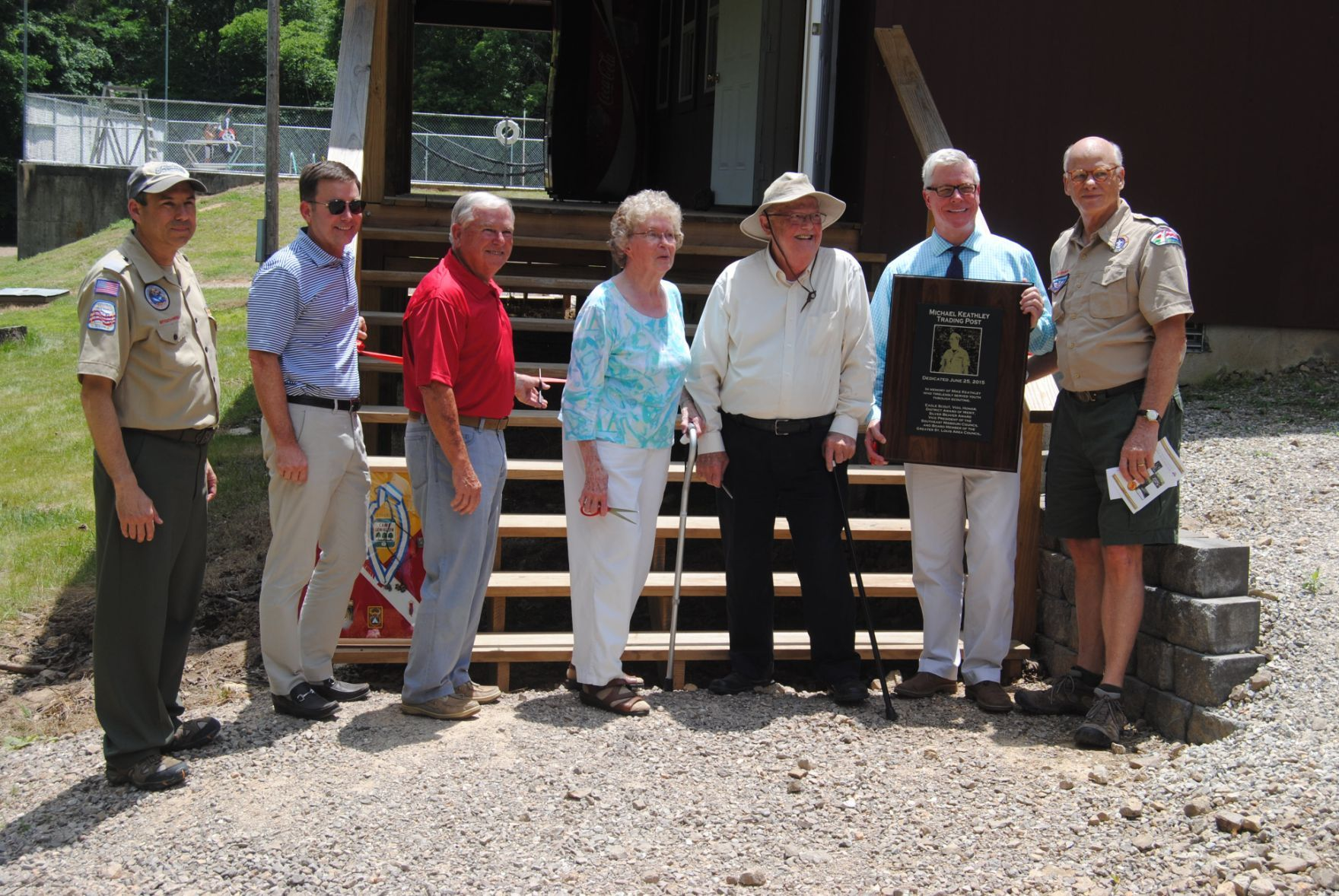 Former scout receives dedication at Camp Lewallen | News ...