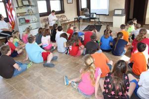 Bismarck fourth graders visit depot