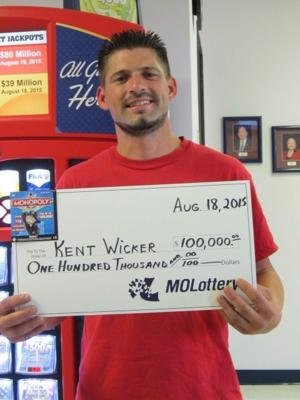 Another local man wins a lottery prize