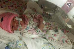 A mother's struggle: Baby suffers stroke in the womb
