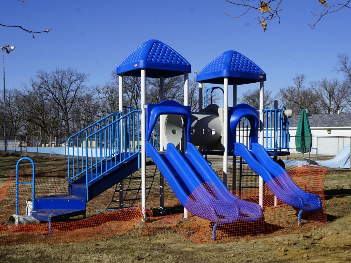 Park Gets New Playground Equipment