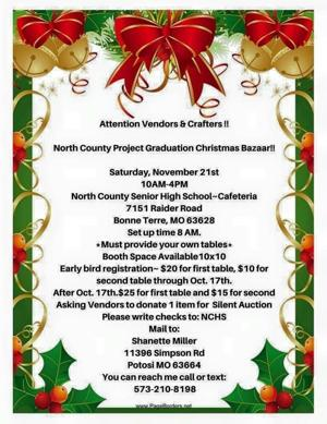 North County Project Graduation holds Christmas Bazaar