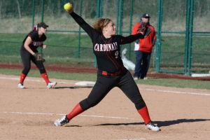 Lady Cardinals ve. Jeffco softball