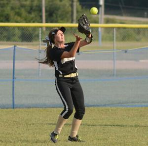 Farmington at Central softball