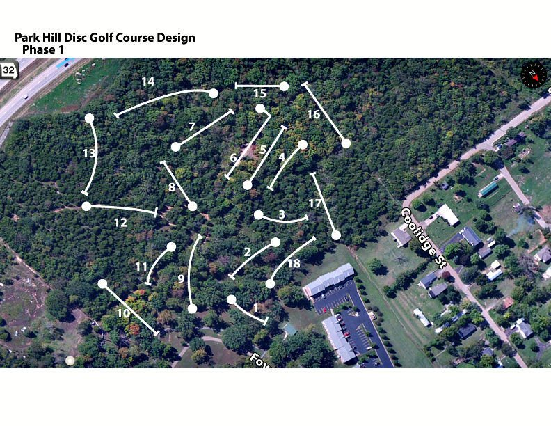 Disc golf course expected to bring visitors and commerce to Park Hills