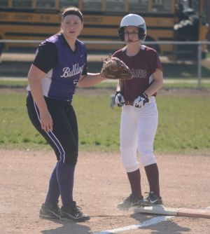 West County at Bismarck Softball