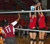 Lady Cardinals work on cohesion in home debut