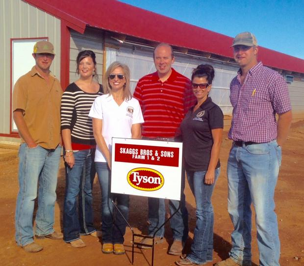 Congressman Smith visits Skaggs farm