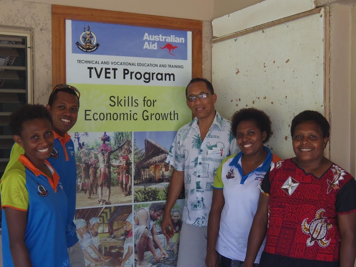 Tonga influence by Vanuatu's Skills for Economic Growth Program
