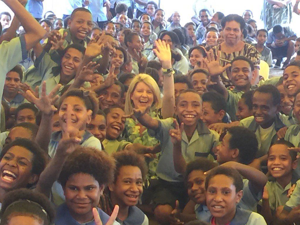 Australia's Ambassador for Women and Girls in Vanuatu