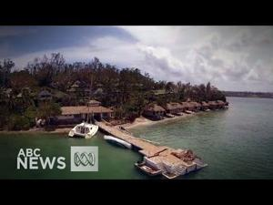 Drone footage of Vanuatu shows human impact of Cyclone Pam