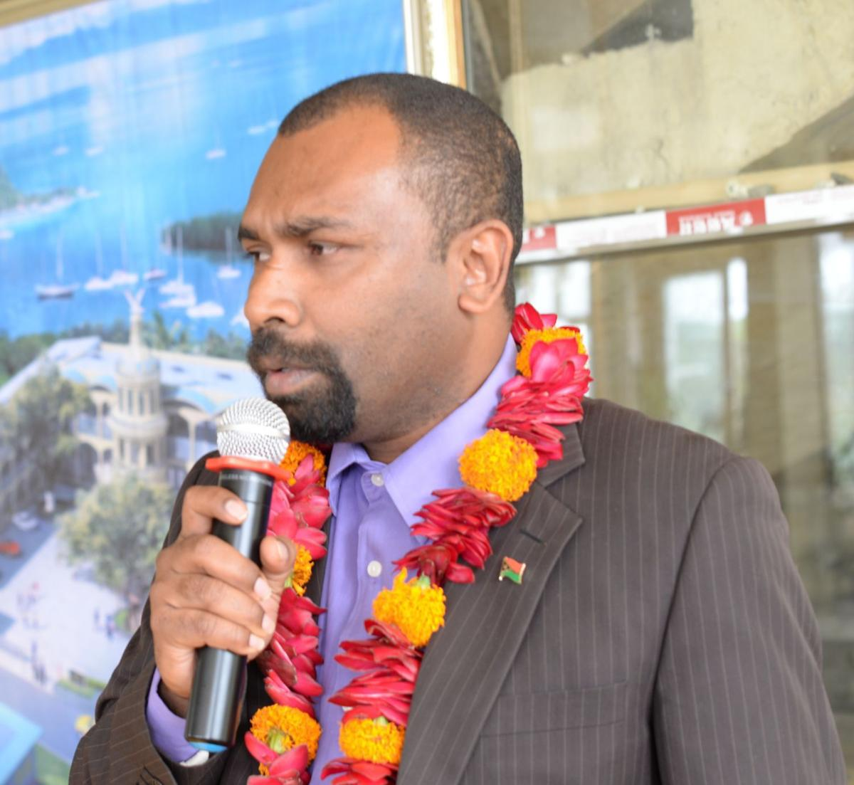 PSC Chairman, Martin Mahe