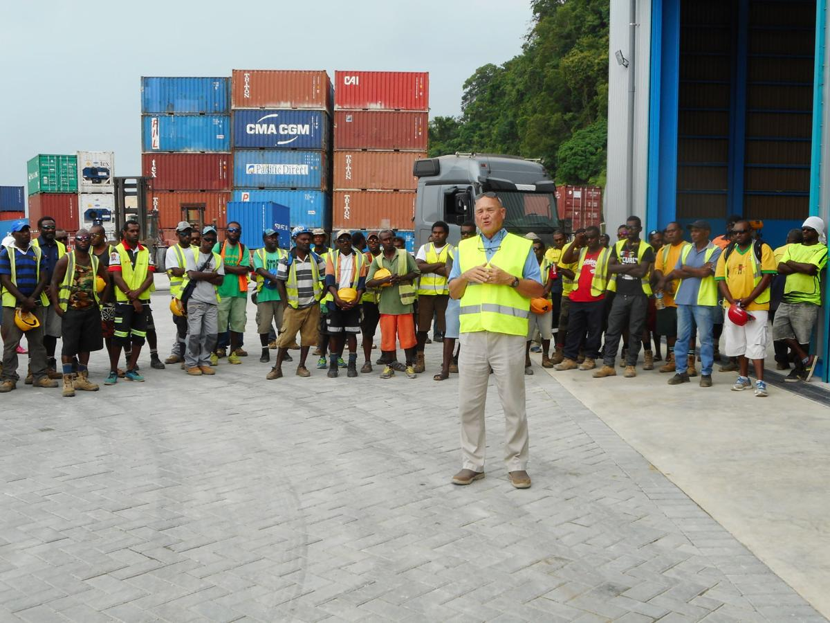 Japan pleased with Lapetasi wharf project progress