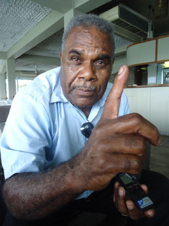 Pastor Allen Nafuki