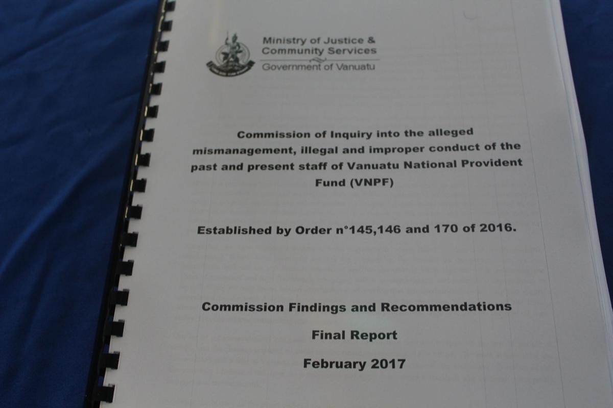 VNPF CoI Report