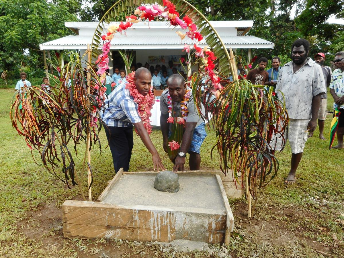 Minister of Health lays foundation stone for Nabauk Dispensary